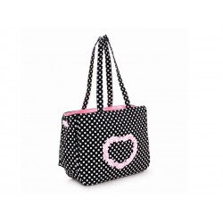 SAC DE TRANSPORT HEART NOIR