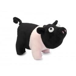 Jouet Sporky le cochon rose et noir