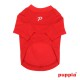 T-SHIRT DOGWATCH ROUGE PUPPIA