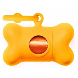 RAMASSE CROTTES BON TON FLUO ORANGE UNITED PETS