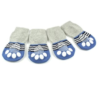 Chaussettes Lovely Bear bleues