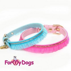 COLLIER DENTELLE FOR MY DOGS