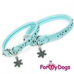 Collier Strass bleu