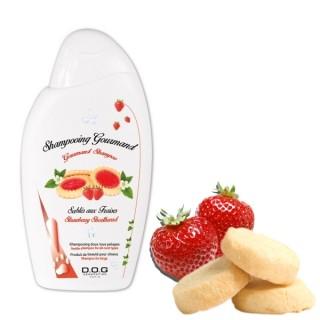 Shampooing Gourmand sablé aux fraises