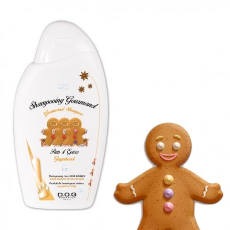 SHAMPOOING GOURMAND PAIN D'ÉPICES DOG GENERATION