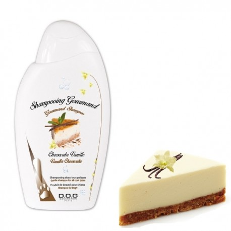 SHAMPOOING GOURMAND CHEESECAKE VANILLE DOG GENERATION