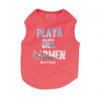 T-shirt Playa rose