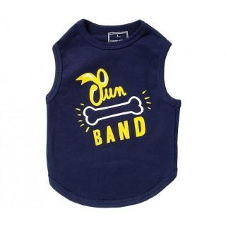 T-shirt Sun bleu