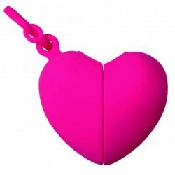 Ramasse crottes Coeur rose
