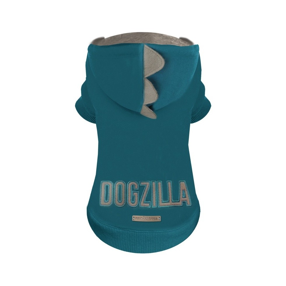 Sweat à capuche Dogzilla vert