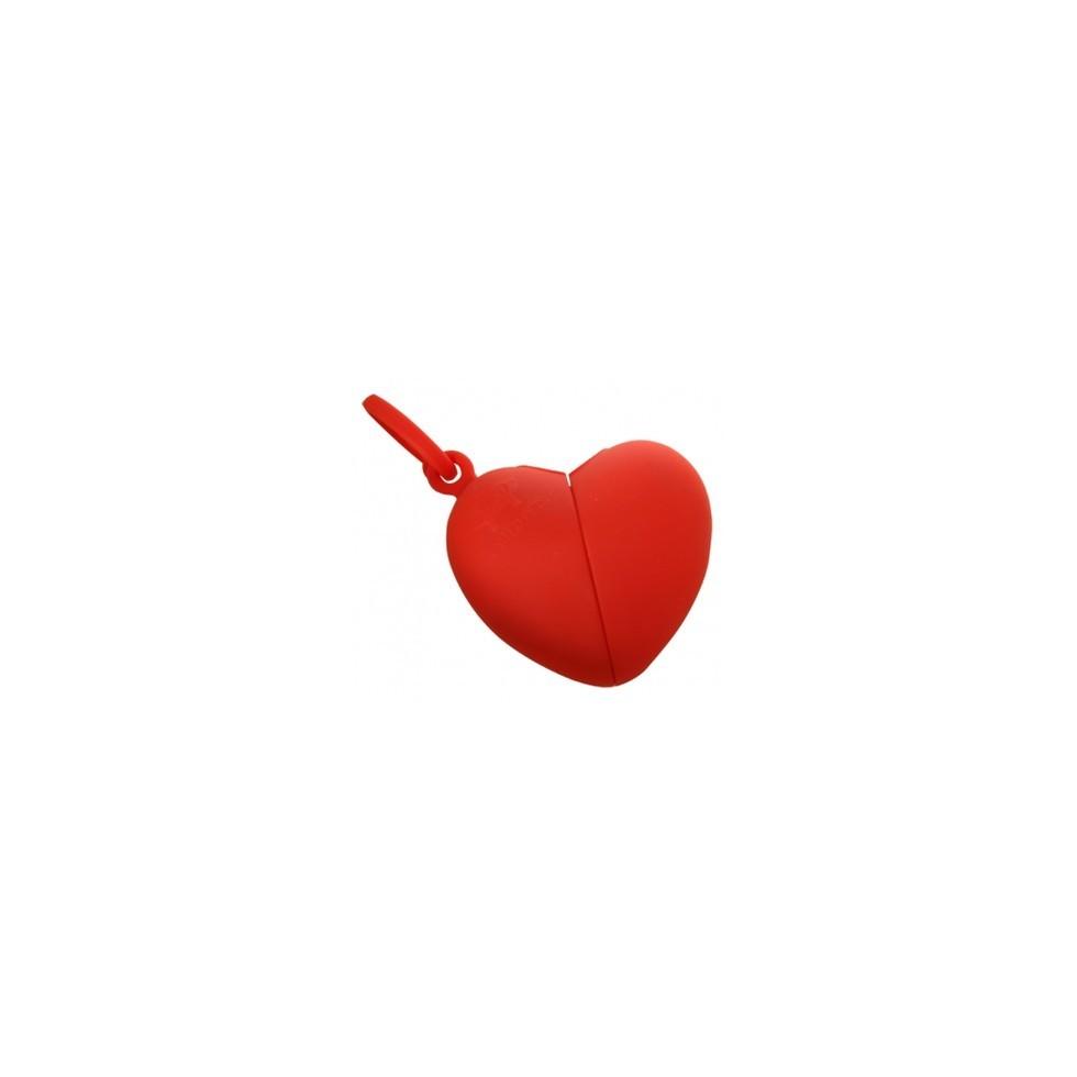Ramasse crottes Coeur rouge