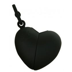 Ramasse crottes Coeur noir