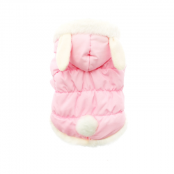 Manteau Cute Bunny rose