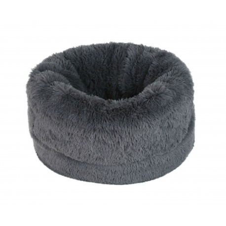 PANIER FLUFFY BALL GRIS ANTHRACITE O'LALA PETS
