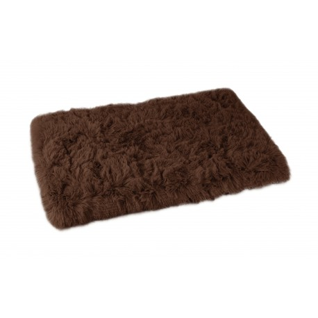 Plaid Fluffy chocolat