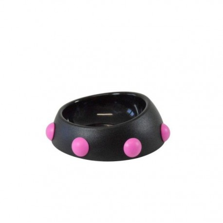 GAMELLE BOSS NANO NOIRE-ROSE UNITED PETS
