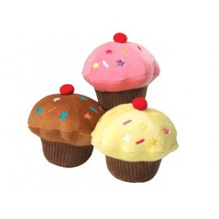 Jouet cupcake (3 coloris)