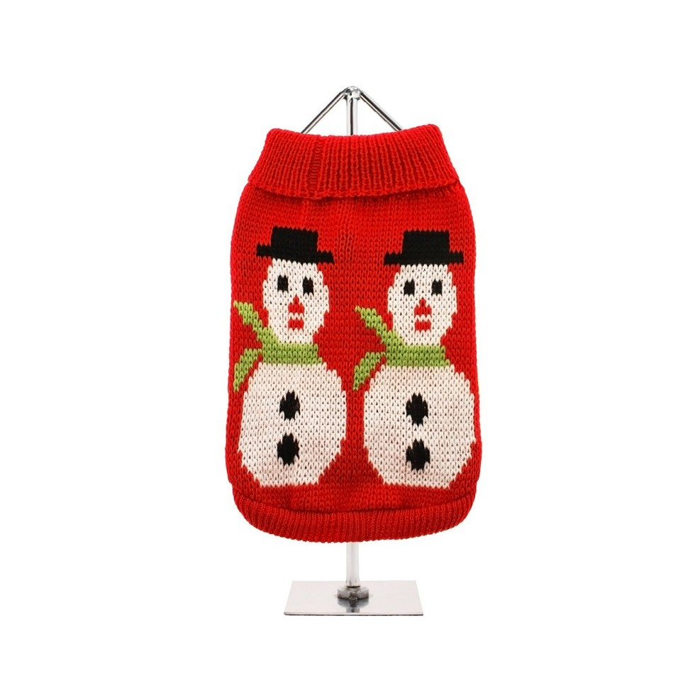 Pull Snowman rouge