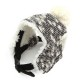 Bonnet Eskimo gris