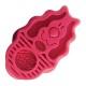 Brosse de massage ZoomGroom rouge