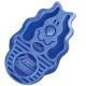 Brosse de massage ZoomGroom bleue