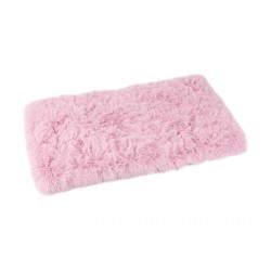 Tapis Fluffy rose
