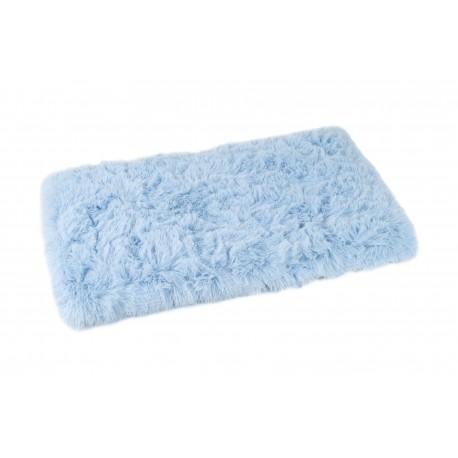 Tapis Fluffy bleu