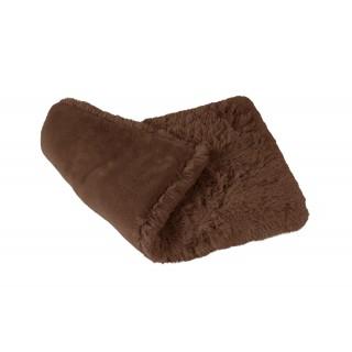 Tapis Fluffy chocolat