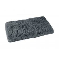 Tapis Fluffy gris anthracite