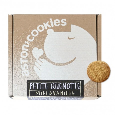 "Biscuits ""Petite Quenotte"" - Miel & Vanille"