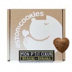 "Biscuits ""Mon P'tit Coeur"" - Banane"