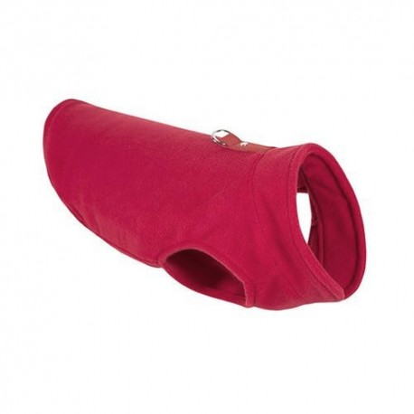 Pull Polaire rouge