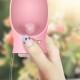 Gourde PB + rose