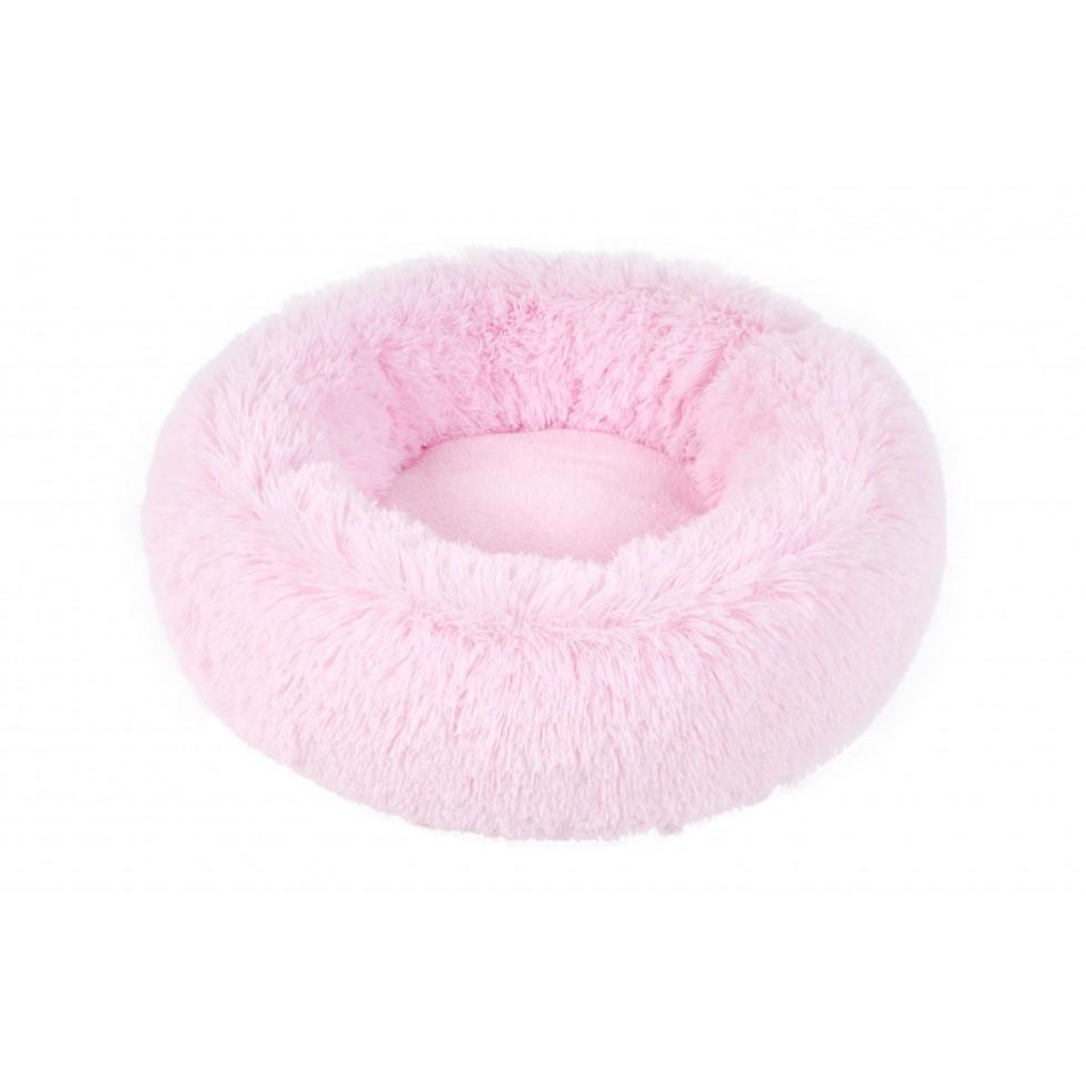 Panier Fluffy Donut rose