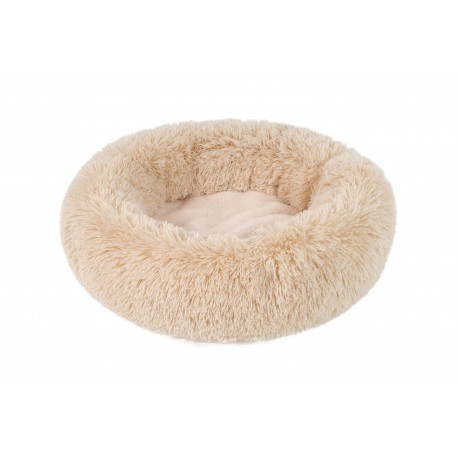Panier Fluffy Donut beige