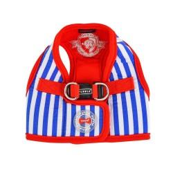 Harnais Veste Stripe Royal Blue
