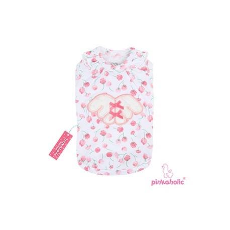 T-shirt Rosa blanc fleuri