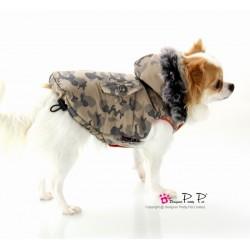 Manteau camouflage beige