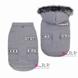 MANTEAU COOL POCKET GRIS PRETTY PET