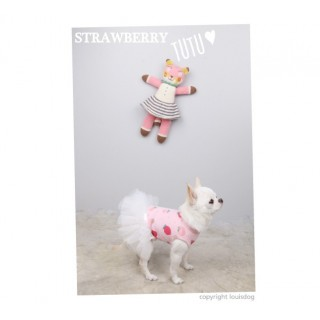 Strawberry Tutu blanc
