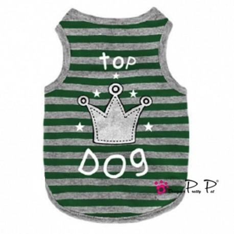 Débardeur Top Dog vert